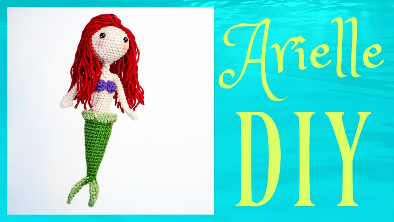 Arielle Häkeln Do It Yourself Amigurumi Disney Woche Youtube