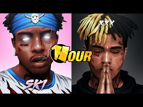 【1 Hour】 XXXTENTACION & SKI MASK THE SLUMP GOD - Playboy Bunny