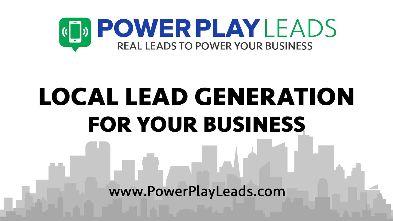 Local Lead Gen from Power Play Leads