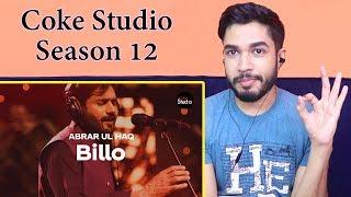 Indian Reaction on Billo | Abrar Ul Haq | Coke Studio Season 12