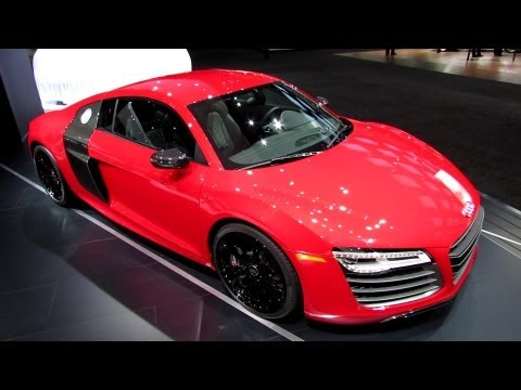 2013 Audi R8 - Exterior and Interior Walkaround - 2013 Detroit Auto Show