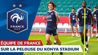 Veille de Turquie-France à Konya, Equipe de France I FFF 2019