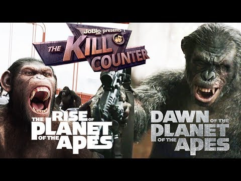 RISE And DAWN Of The PLANET Of The APES - The Kill Counter
