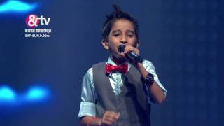 Vishwaprasad On Neele Neele Ambar Par | Liveshows | Sneak Peek | The Voice India Kids | Sat-Sun 9 PM