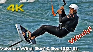 Valencia, Wind, Kite Surf & Sea [4K]