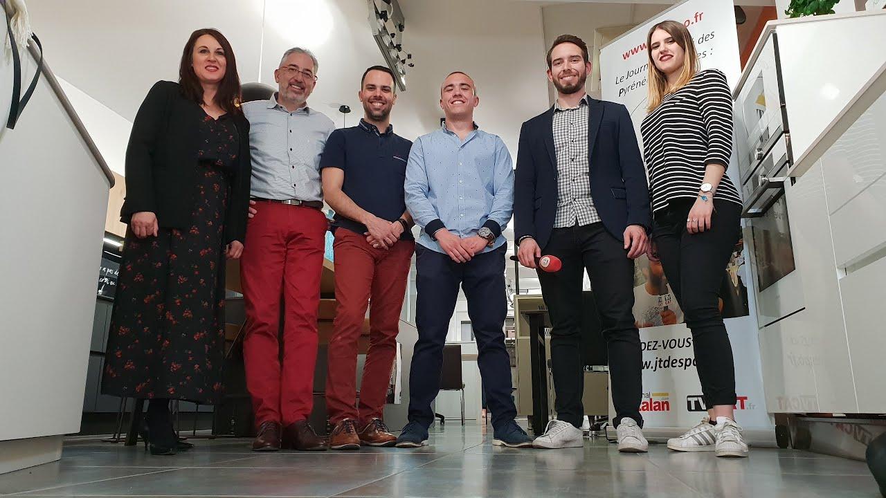 ✅58 JT des PO chez Garcia création : Cuisines, bains, dressings à Perpignan - #TVCAT