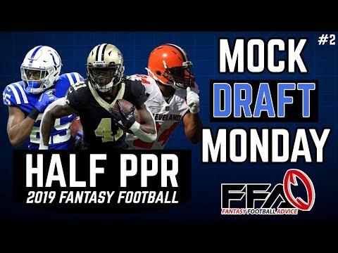 2019 Fantasy Football Mock Draft | Half PPR | 4th Pick