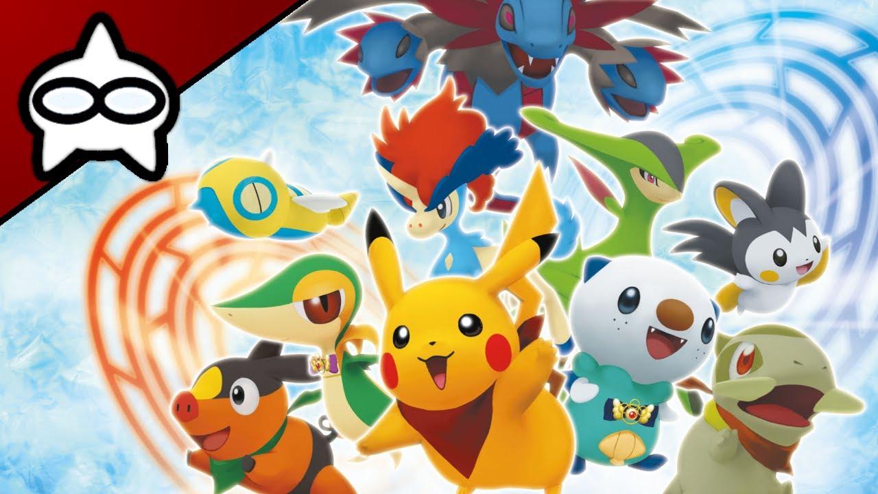 Let 39 s live pokemon donjon myst re les portes de l - Pokemon donjon mystere porte de l infini ...