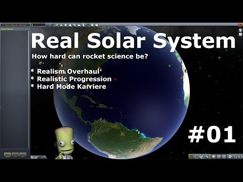 Real Solar System - Realism Overhaul #1 Livestream [deutsch/german]