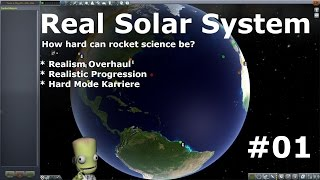 Real Solar System - Realism Overhaul #1 Livestream [deutsch/german]