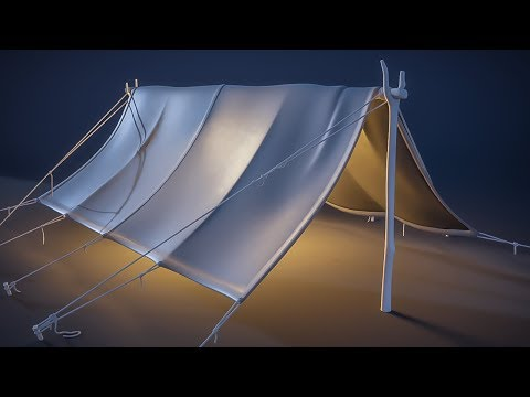 CGC Classic: Creating a Pup Tent pt.1 - Modeling (Blender 2.4)