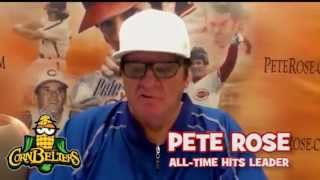Pete Rose Night At The Corn Crib - July 9th, 2015