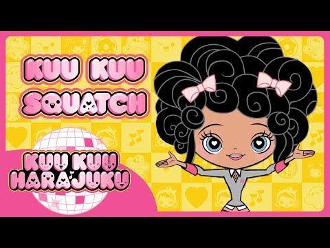 Kuu Kuu Harajuku | Kuu Kuu Squatch | Baby's Kuu Kuu Close-Up