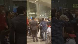 Funny Egyptian wedding ceremony in qatar airport on 26.01.2017