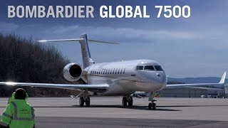 Inside Bombardier's Global 7500: The Largest Purpose Built Business Jet In The World – Aintv
