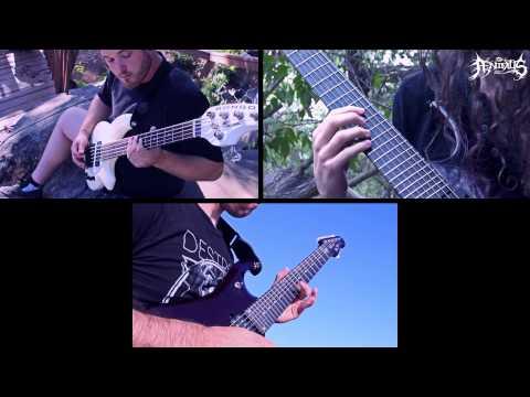 Ænimus // Masterpiece (Guitar and Bass Play-through)