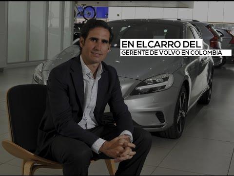 En el carro del español que maneja la marca Volvo en Colombia | El Espectador