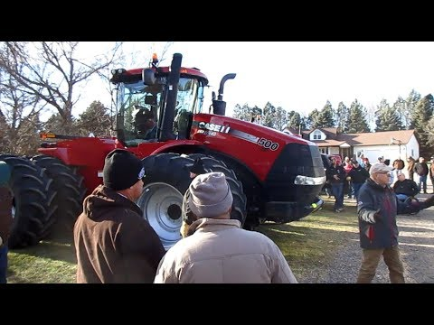 Tim & Suzanne Milbeck Farm Retirement Auction Today in Dawson, MN 11/30/17