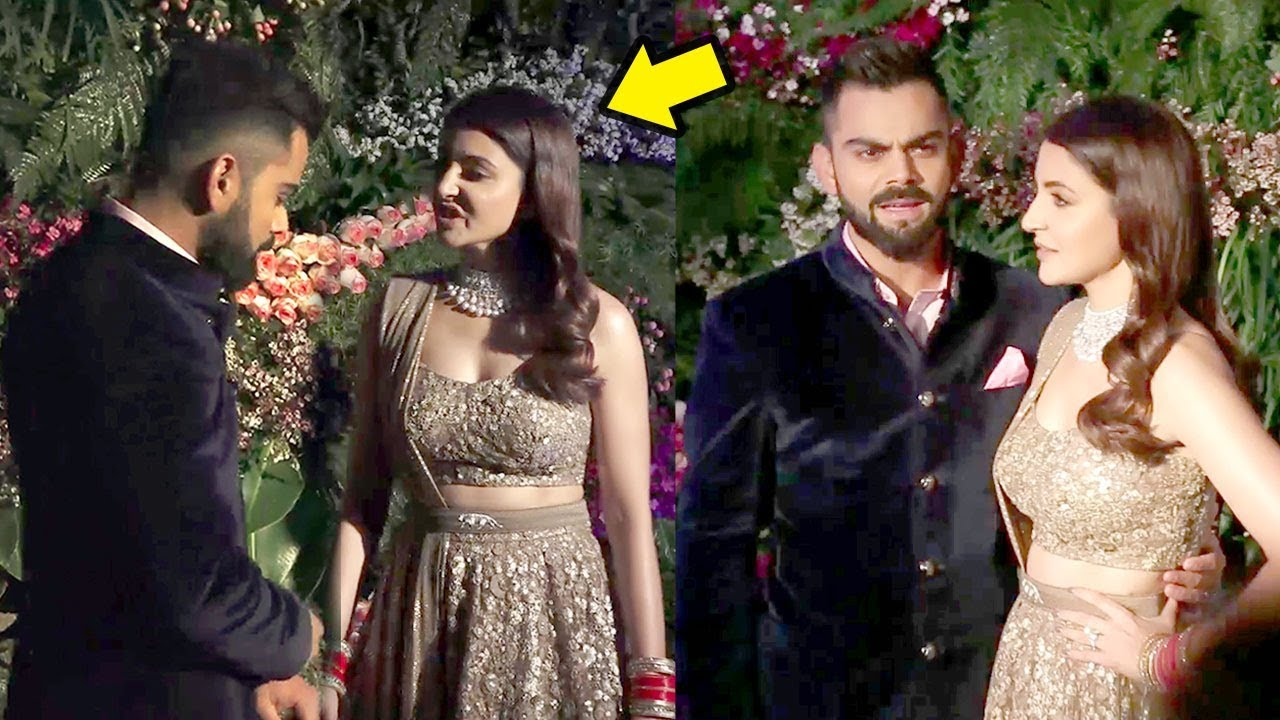 Anushka Sharma Fights With Virat Kohli At Wedding -4521