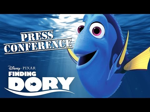 FINDING DORY cast reveals interesting facts about the movie | Global Press Conference [HD]