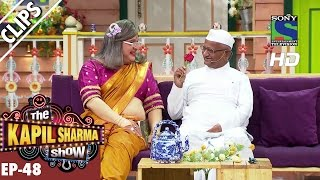 Naani's flirt with Anna Hazare in the Kapil Show -The Kapil Sharma Show-Ep.48-2nd October 2016