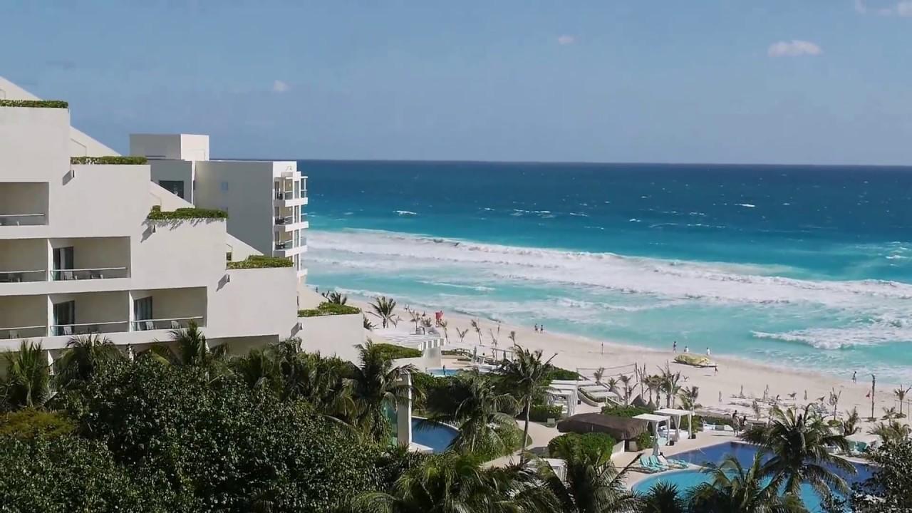 Live Aqua Cancun Ocean View Room Walk Through Youtube