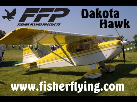 Fisher Flying Products, Mike Makepeace, The Dakota Hawk Experimental Light Sport Aircraft.