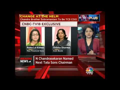 India's Top Financial Execs on N Chandrasekaran