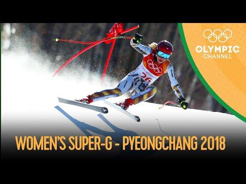 Women's Super-G - Alpine Skiing | PyeongChang 2018 Replays