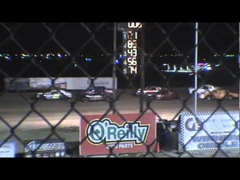 Texas Thunder Speedway-Street Stock-April 28, 2012--Gary and Benny