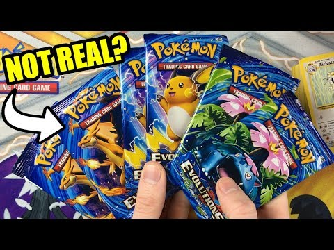 ULTRA RARE CARD IN EVERY BOOSTER PACK! OPENING FAKE POKEMON CARDS! Fan Mail