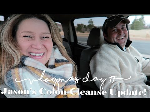 Jason's Colon Cleanse Update!  |  VLOGMAS Day 17