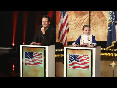 LinManuel Miranda and Macey Hensley Face Off in Historical Trivia