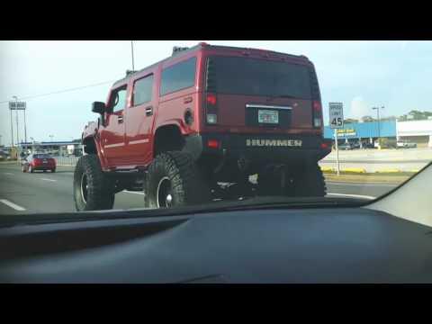 HUMMER H2 on 4×4 Tires!