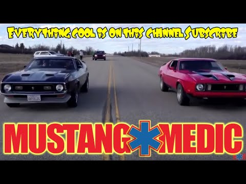 1973 Mach 1 Races the 71 Fastback Project  Rosss 1971 Mustang
