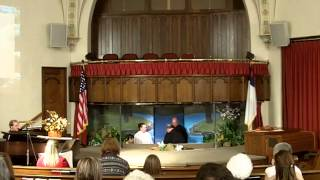 Baptism During A Snow Storm