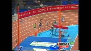 Antonio Reina Cto  España pista cubierta Madrid 2005 Final