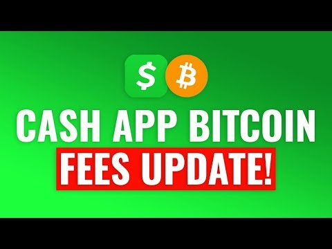 Cash App Bitcoin FEES UPDATE! Good Or Bad?