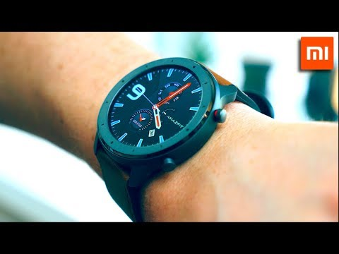 Xiaomi Huami Amazfit GTR - UNBOXING & Detailed REVIEW! (English)