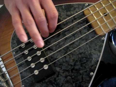 bass guitar lesson 3 finger technique. Black Bedroom Furniture Sets. Home Design Ideas