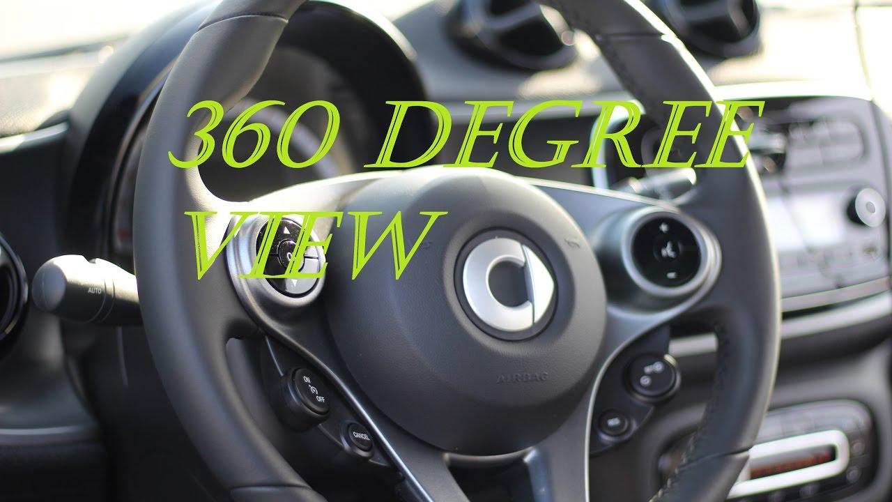 2016 Smart Fortwo Prime Interactive 360 Degree Interior View