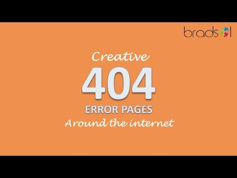 40+ Creative 404 Error Pages with best Web design strategies