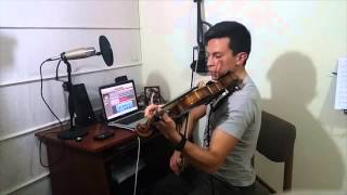 Diego Esteban - Heist by Lindsey Stirling - Electro Acoustic Violin Cover