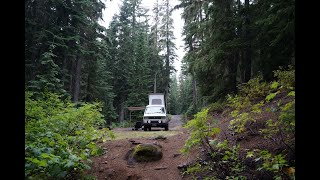 Westy Dispersed Camping in the Gifford Pinchot NF
