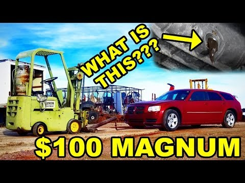 $100 Auction Dodge Magnum | WORST OIL EVER | WILL IT START???