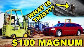 $100 Auction Dodge Magnum | WORST OIL EVER | WILL IT START???