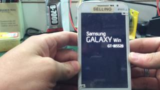 Hard reset Galaxy WIN GT-I8552B ( Como resetar Galaxy Win )
