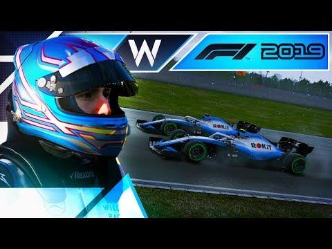 F1 2019 КАРЬЕРА - ШИКАРНЫЙ ПРОРЫВ И НЕМНОГО ДОЖДЯ #24