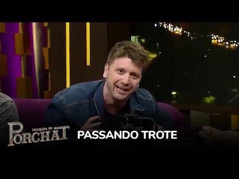 Daniel Zukerman Passa Trote Em Ana Paula Renault E Oscar Maroni