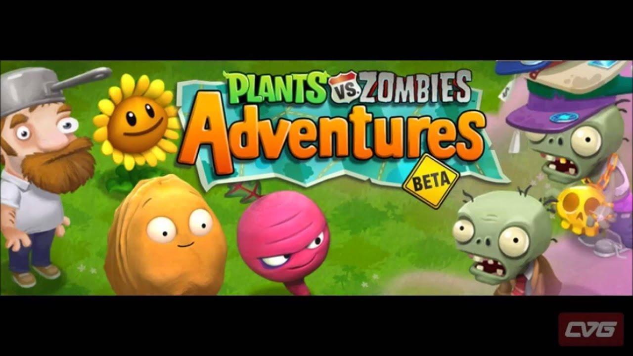 Plants vs zombies adventures beta game image/picture/photo.